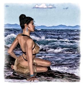 donne e il mare 2
